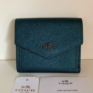 Coach metallic wallet